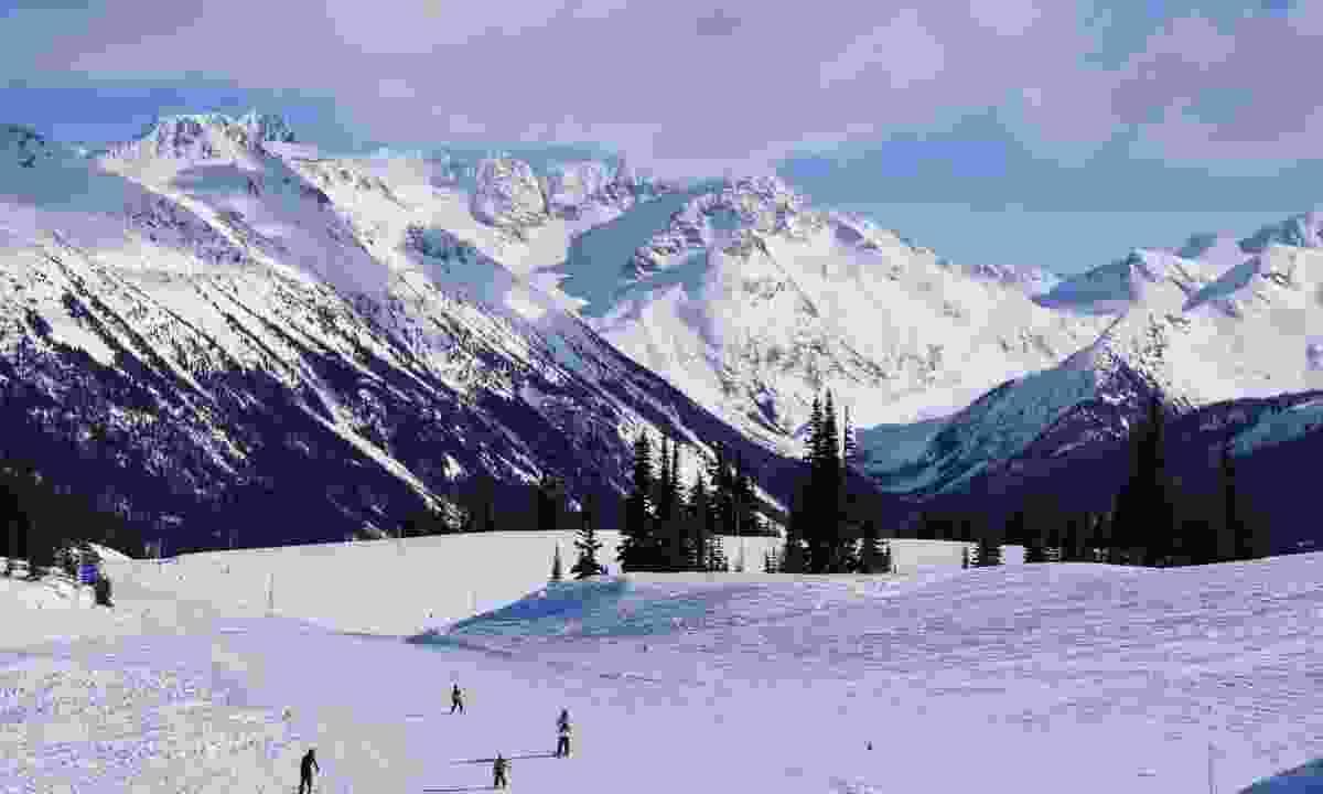 Skiing in Whistler (Dreamstime)
