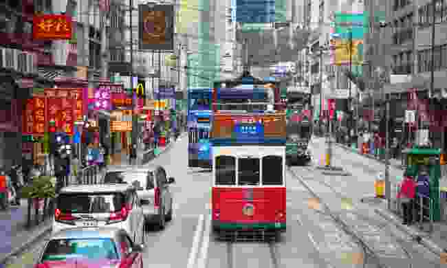 Hong Kong tram (Dreamstime)