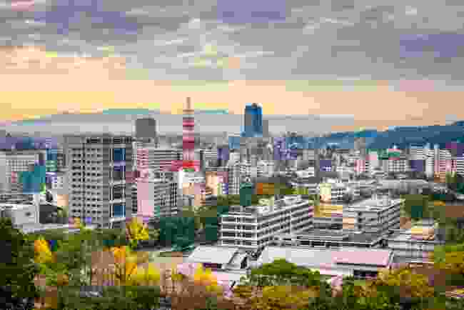 Kumamoto skyline (Shutterstock)