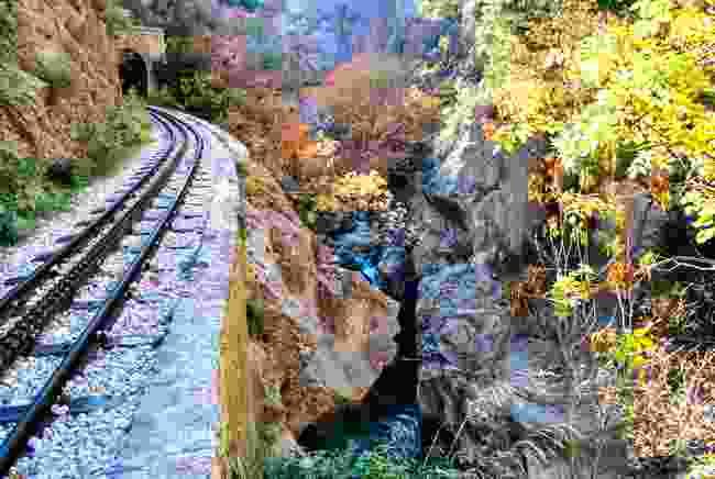 Odontotos Rack Railway, Greece (Shutterstock)