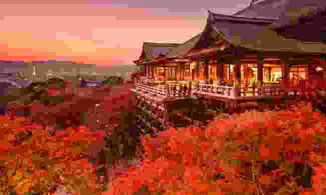Kiyomizu-dera temple (Shutterstock)