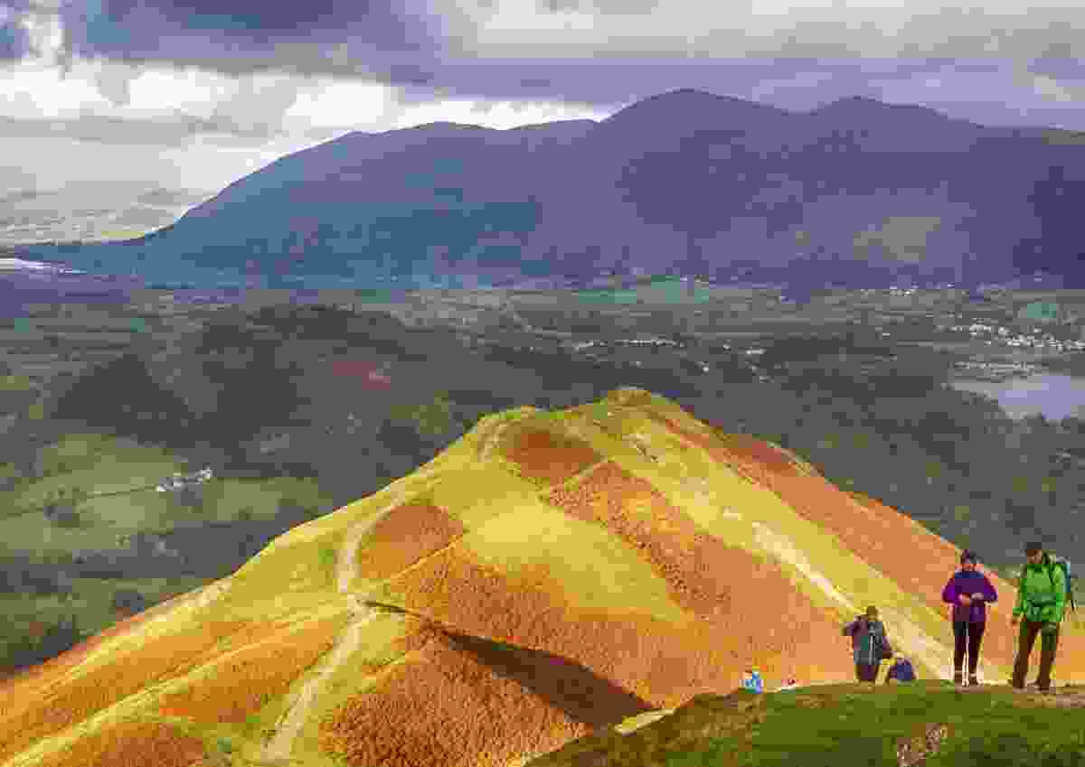 Hill bathed in light, Lake District, UK (Ruta Mackelaite)