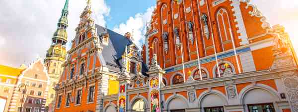 The House Of The Blackheads in Riga, Latvia (Dreamstime)