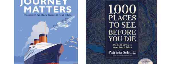 Two of the top travel books for 2020 (Images c/o publishers)