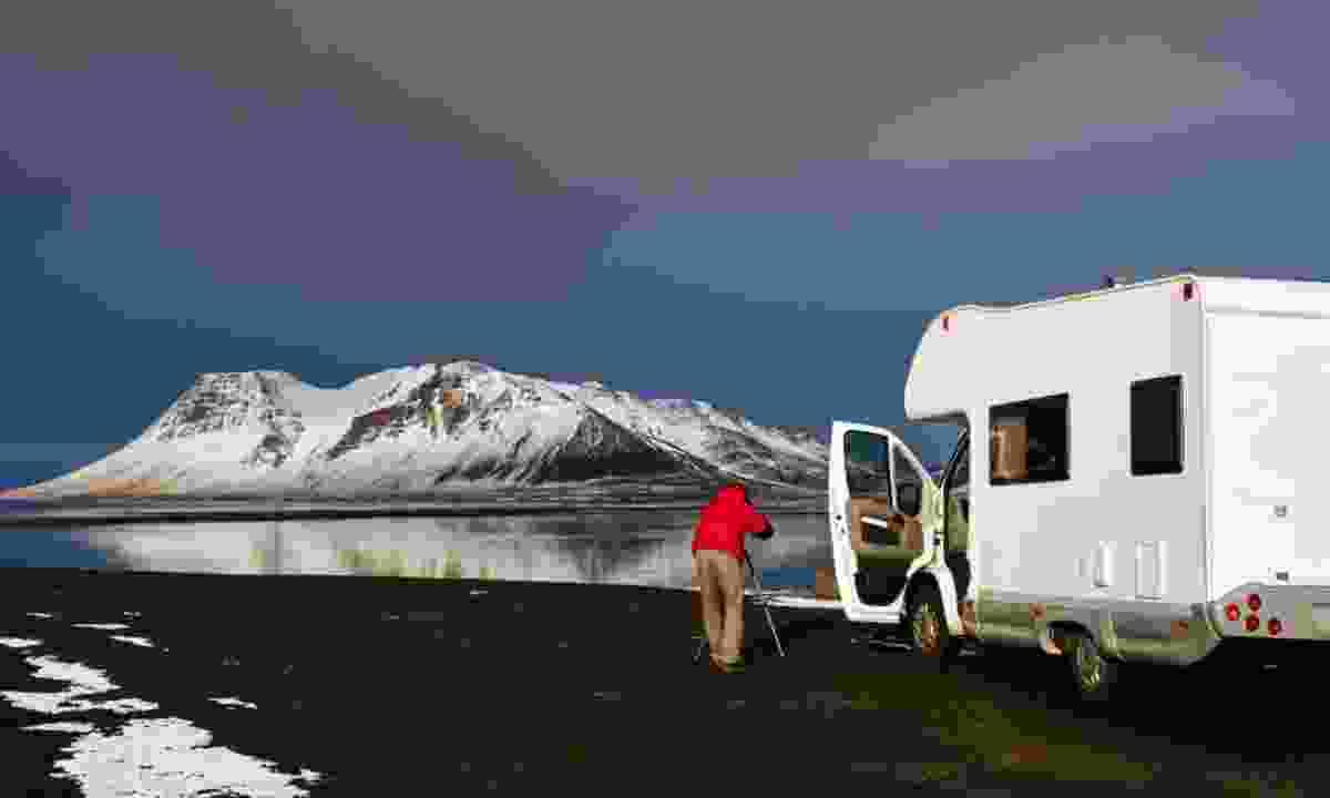 Campervan in Iceland. (Dreamstime)