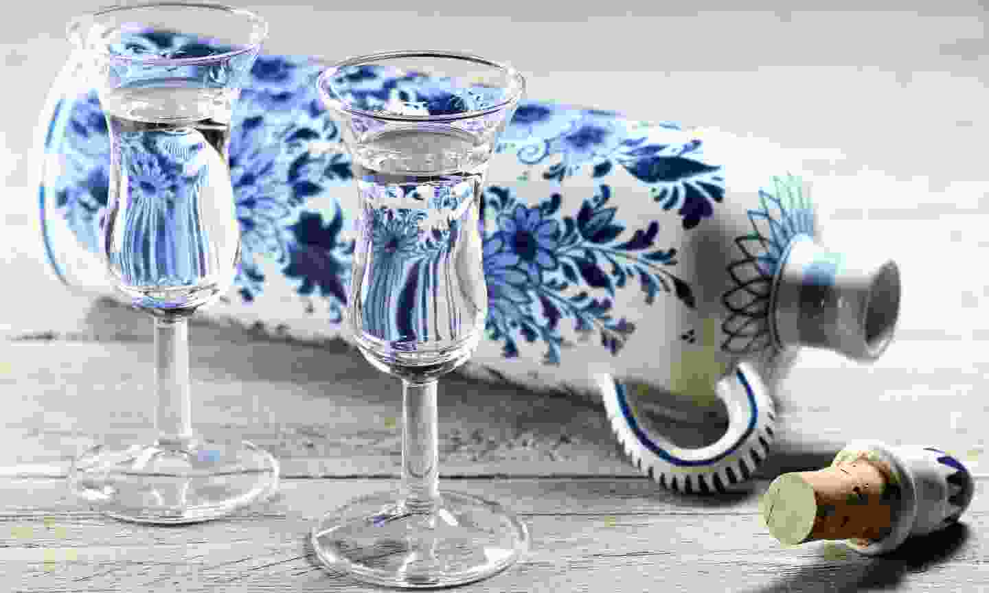 Dutch gin, traditionally served in tulip-shaped glasses (Dreamstime)