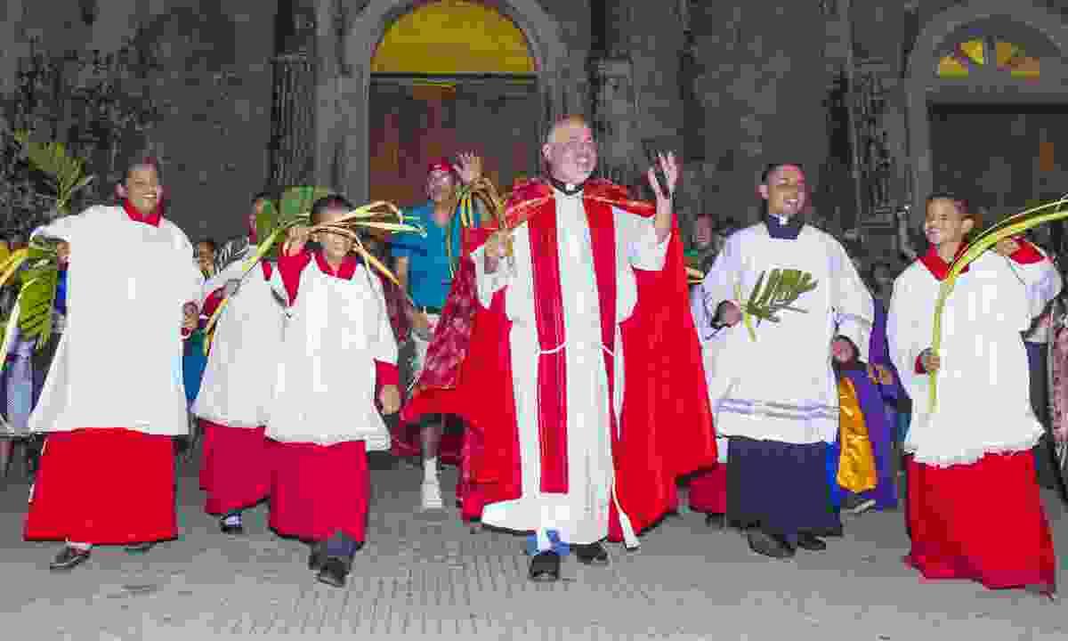 Palm Sunday in Granada, Nicaragua  (Dreamstime)