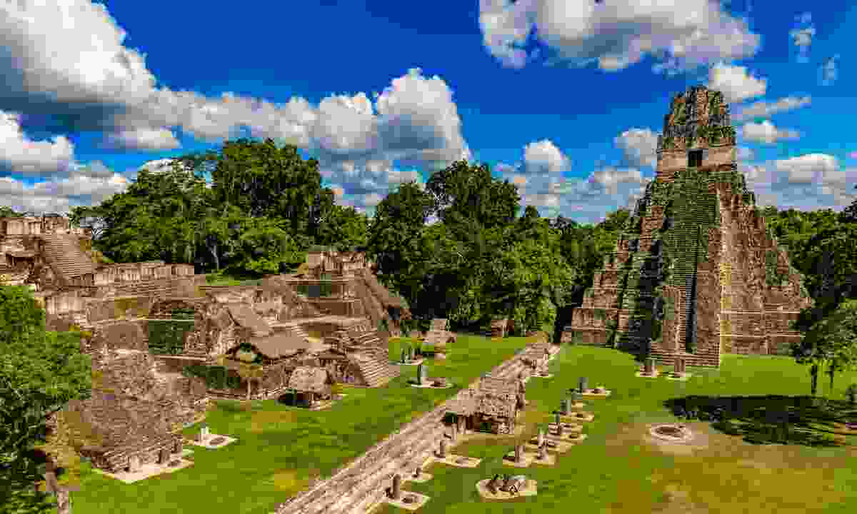 The Grand Plaza in Tikal (Shutterstock)