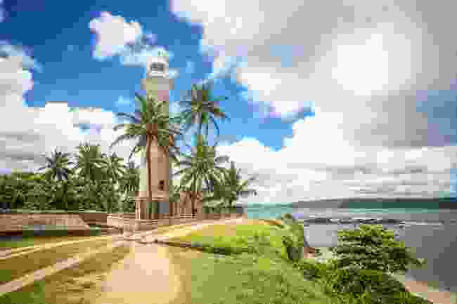 The lighthouse at Galle Forte (Shutterstock)