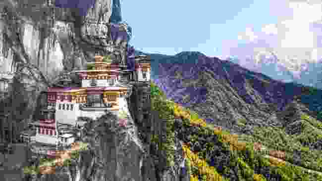 Tiger's Nest, Bhutan (Dreamstime)