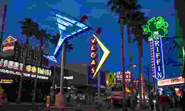 Fremont Street, Las Vegas (Sydney Martinez, TravelNevada)