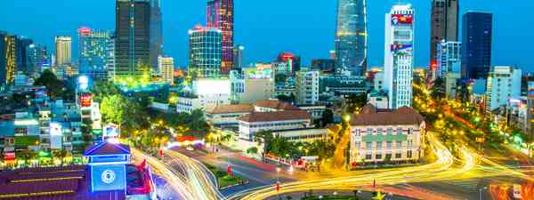 Ho Chi Minh City at night (Shutterstock)