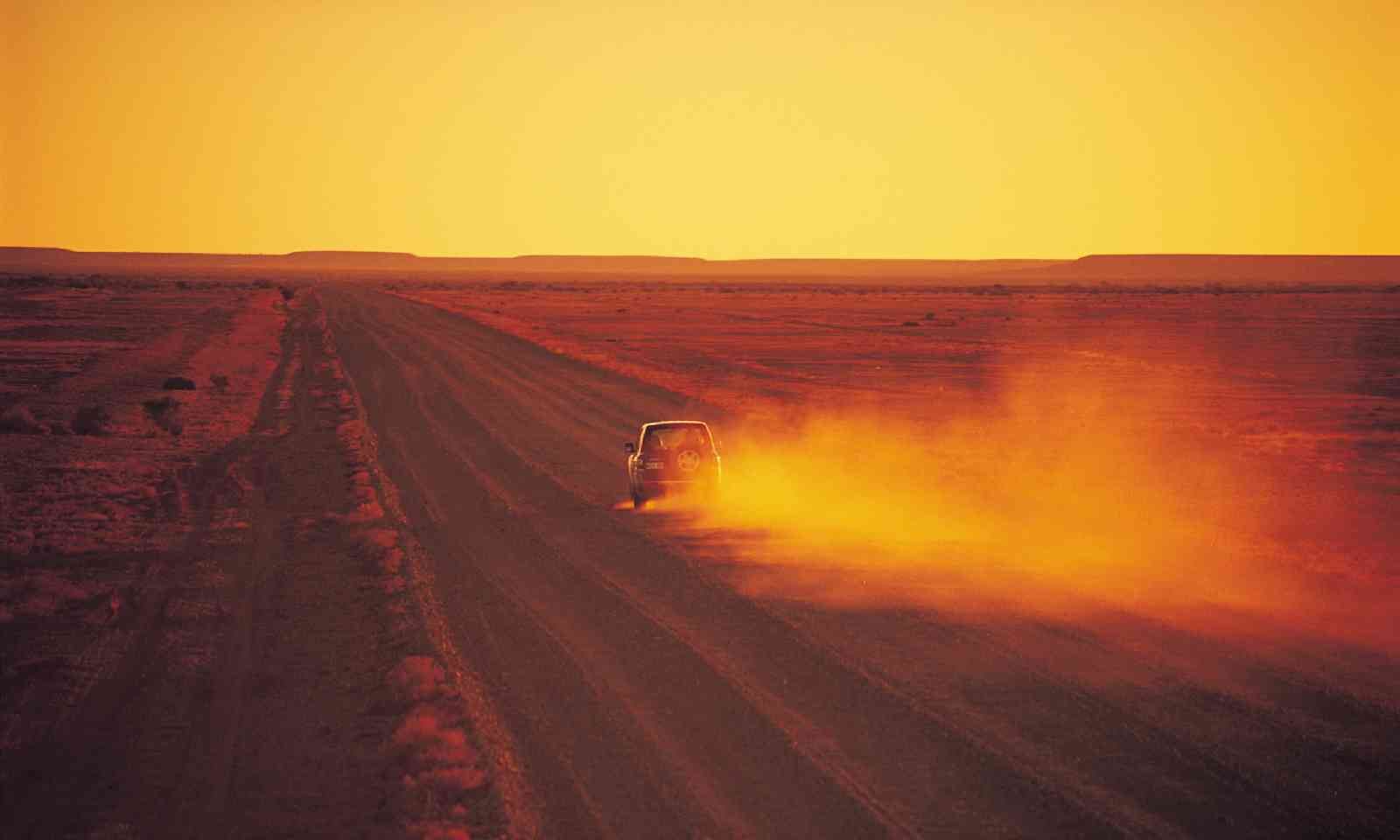 Driving in the Outback (SATC)