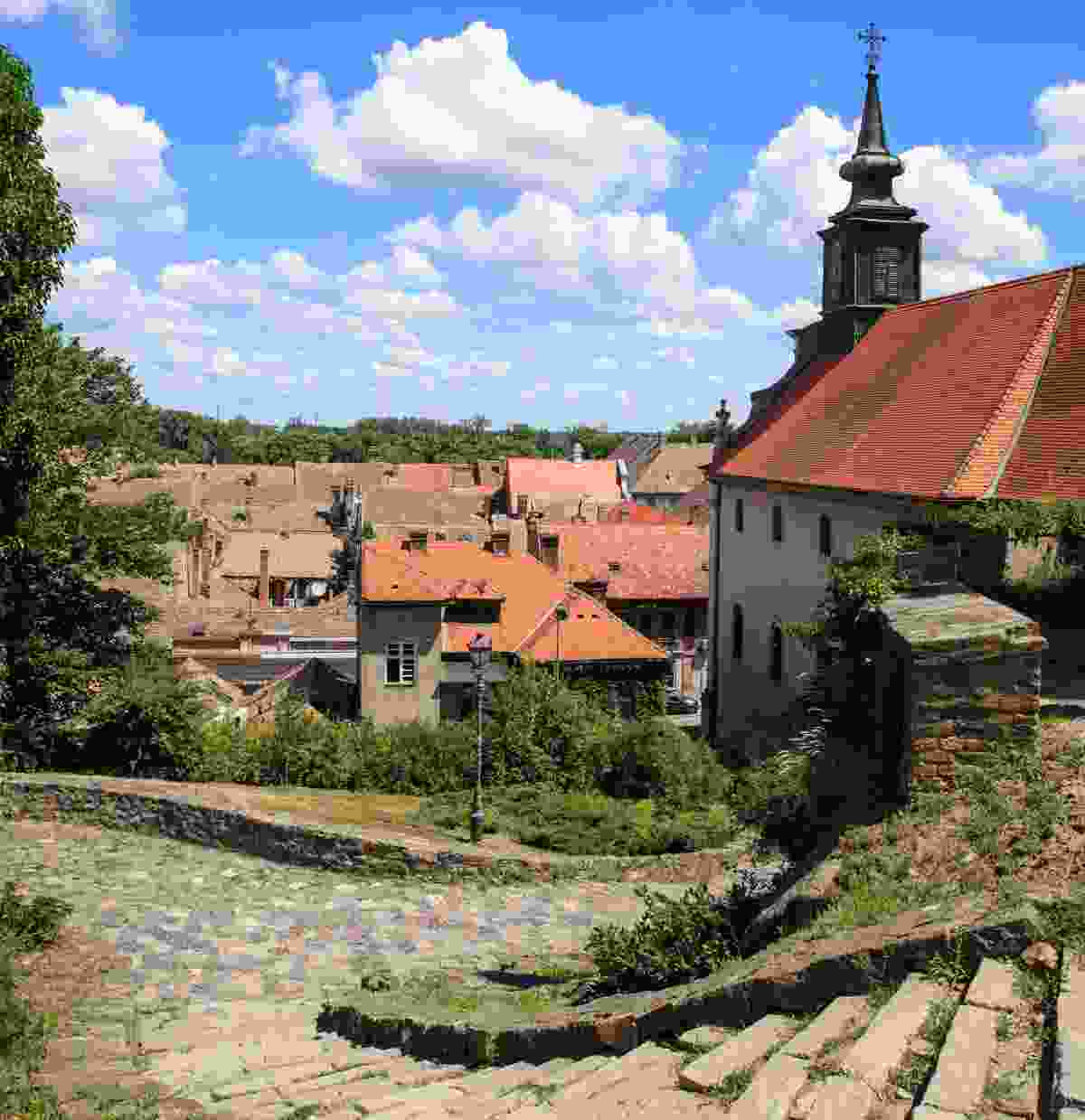 The Petrovadian Fortress is just one of many beautiful examples of Novi Sad's architecture (www.novisad.travel)