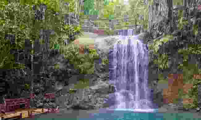 A waterfall in Colo-i-Suva Forest Reserve (Shutterstock)
