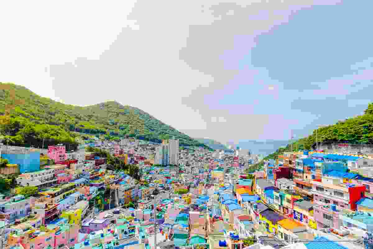 Gamcheon Culture Village in Busan, South Korea (Dreamstime)