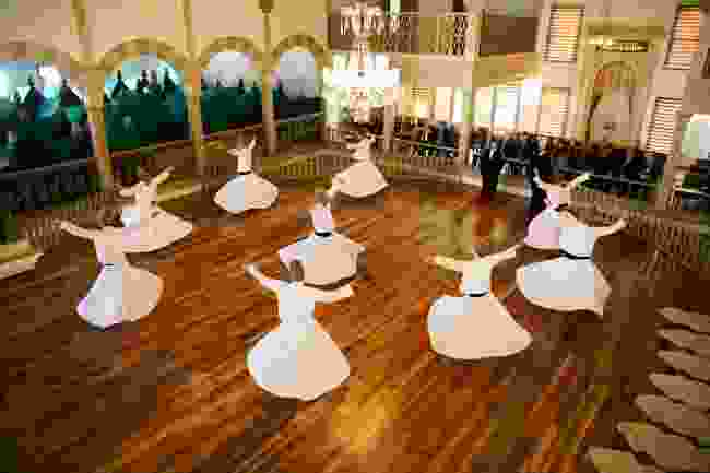 Whirling Dervishes in Istanbul, Turkey (Shutterstock)