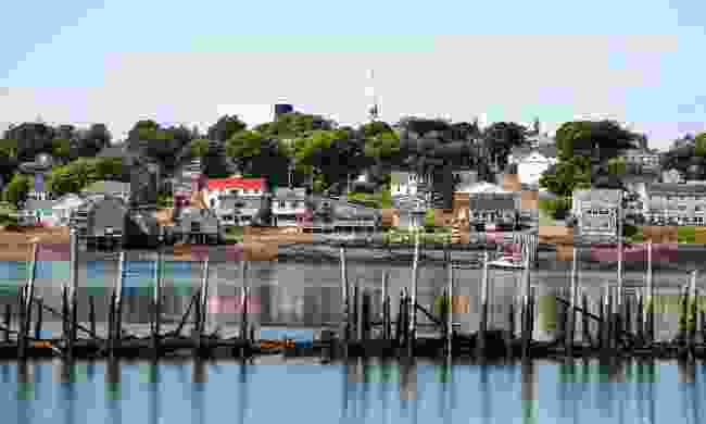 Lookig over to Lubec, Maine, USA, from Mullholland Point  (Phoebe Smith)