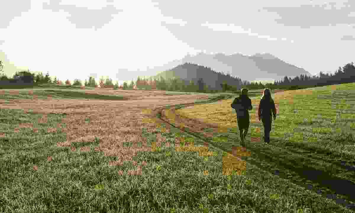 Hiking through the sprawling countryside (Alpenwelt Karwendel / Wolfgang Ehn)