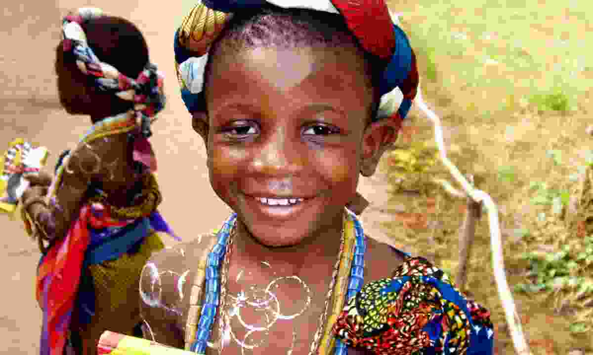 A young girl in Ghana (Dreamstime)