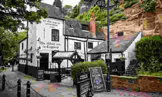 Ye Olde Trip to Jerusalem Pub (Shutterstock)