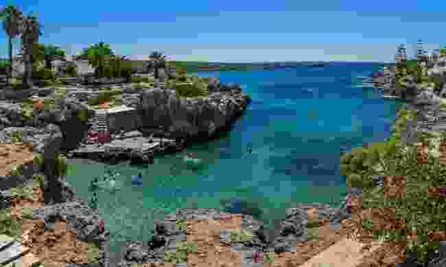 Avlemonas Beach on Kythira (Shutterstock)