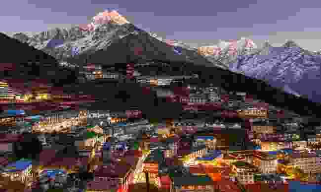 Namche Bazaar in Nepal (Shutterstock)
