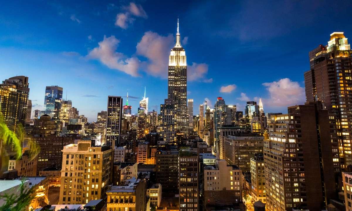 New York City skyline at night (Dreamstime)