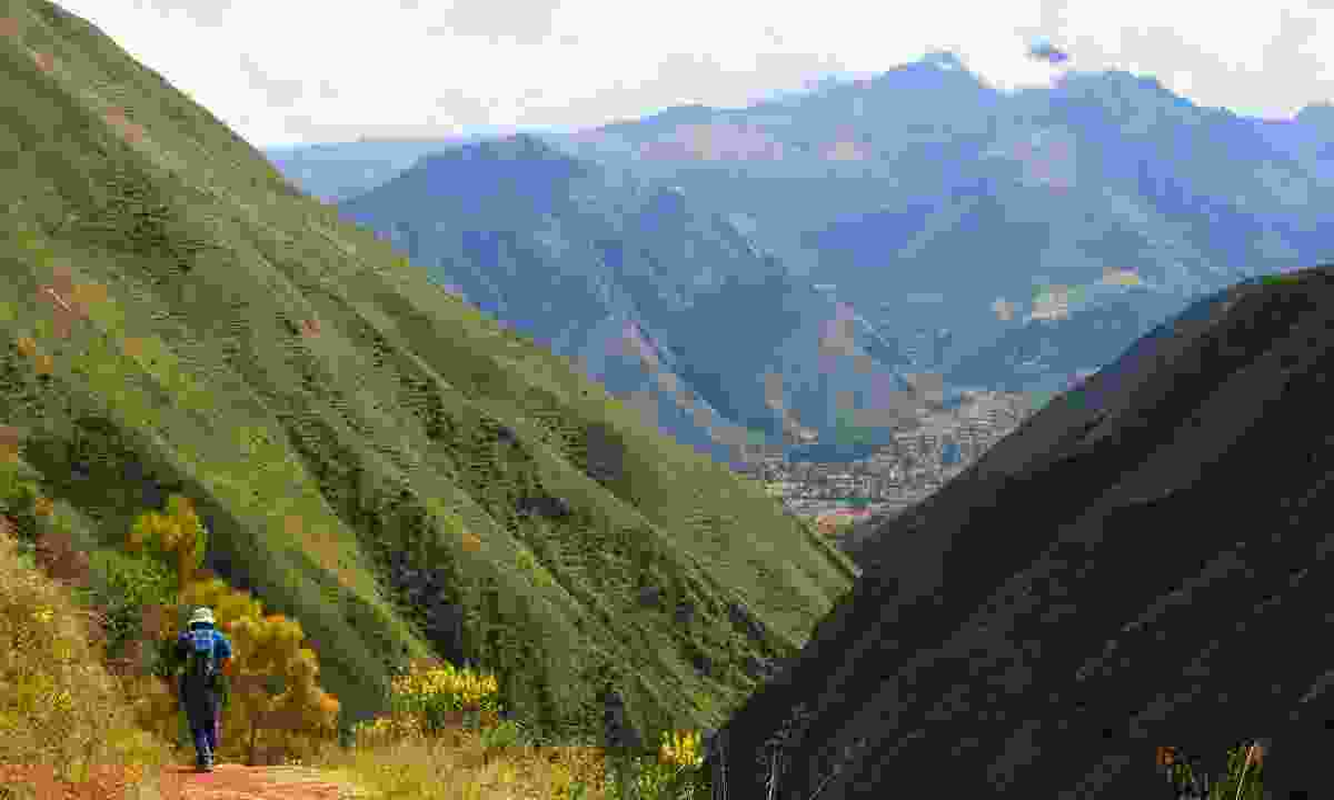 Hiking from Chinchero – one of many stops along the Lares Trek where links to the ancient world can still be found in village life (Paul Bloomfield)