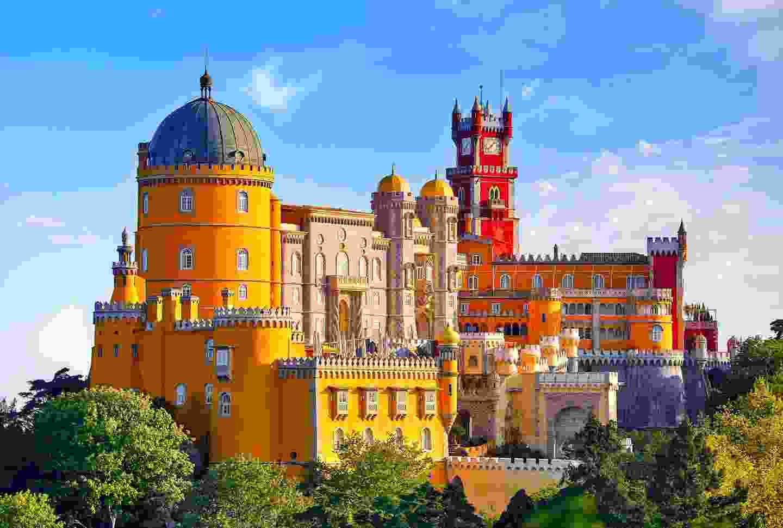 Pena Palace, Sintra, Portugal (Shutterstock)