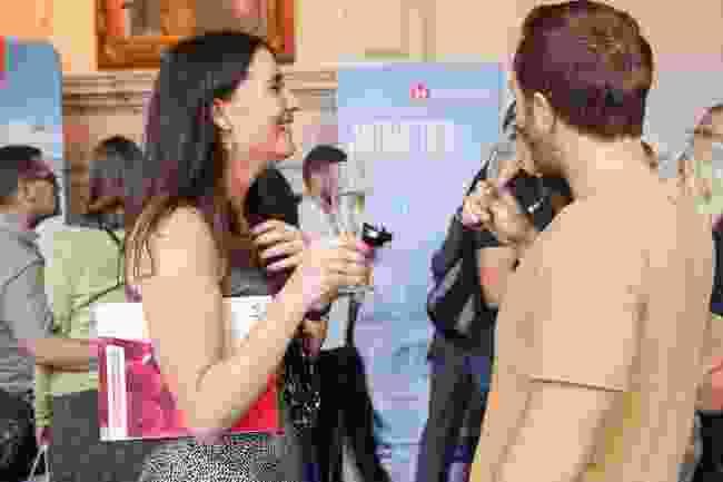 All smiles at Wanderlust reader events (Victoria Middleton)