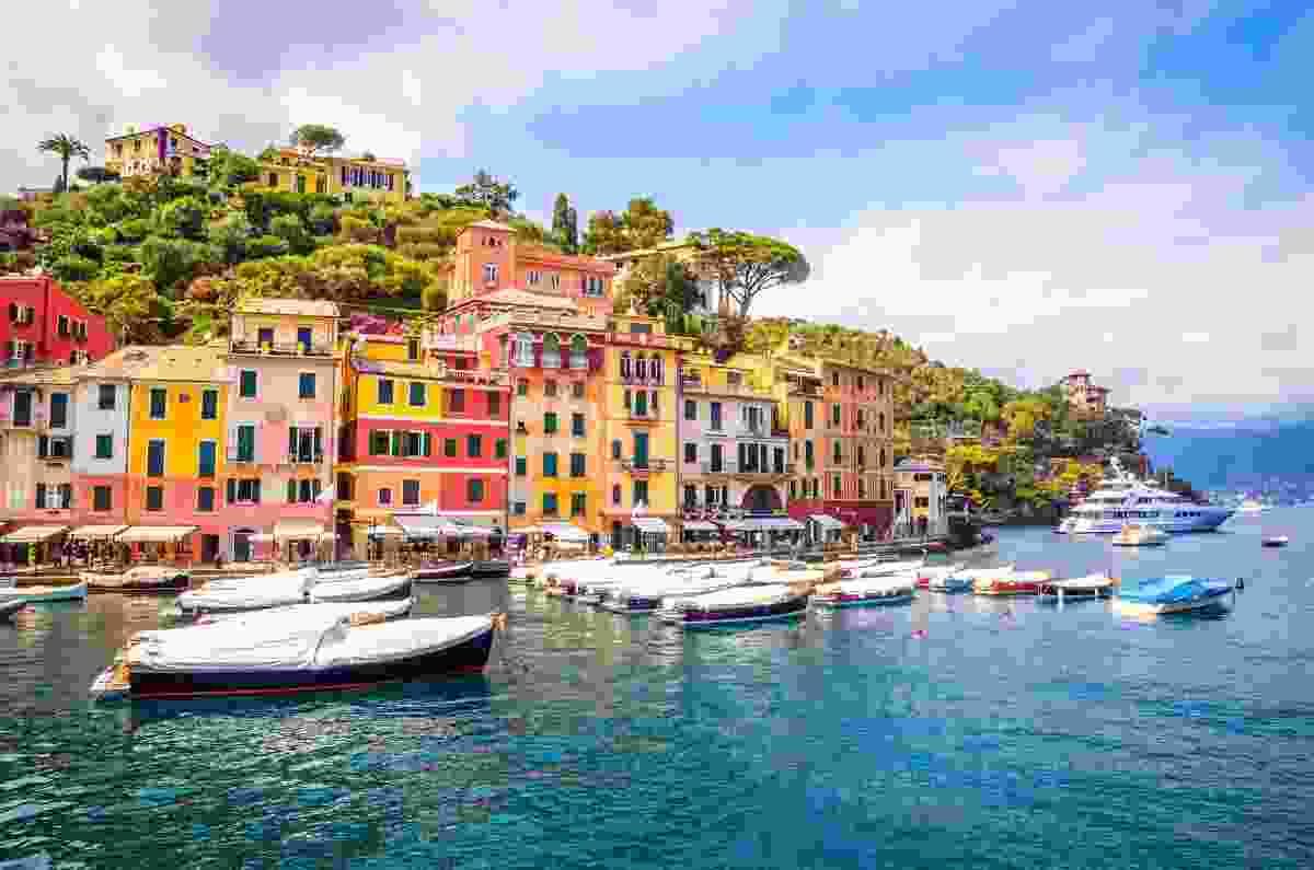 The colourful homes of Portofino, near Genoa, Italy (Shutterstock)