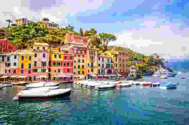 The colourful homes of Portofino, near Genoa, Italy (Shutterstock)