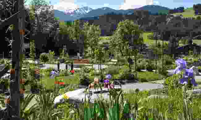 Enjoy the Hildegard von Bingen Garden in Reith im Alpbachtal (Alpbachtal Tourismus)