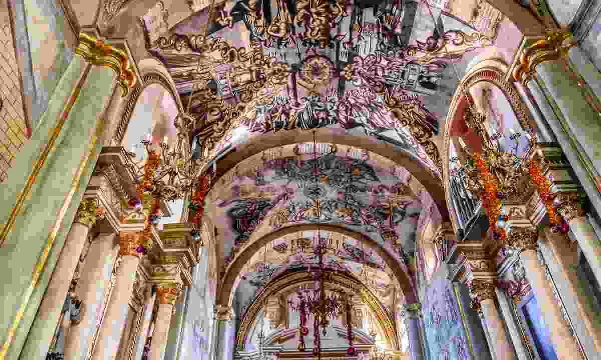The Sanctuary of Atotonilco is dubbed as Mexico's Sistine Chapel (Shutterstock)
