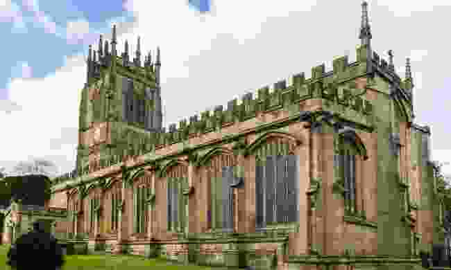 The bells listed as one of the seven wonders of Wales are found inside Gresford's All Saints Church (Dreamstime)