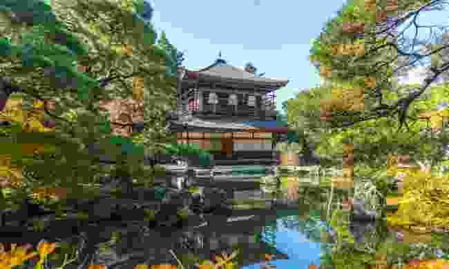 Ginkakuji temple (Shutterstock)