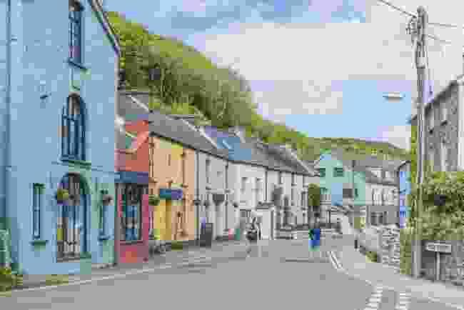 The village of Solva, Pembrokeshire, Wales (Shutterstock)