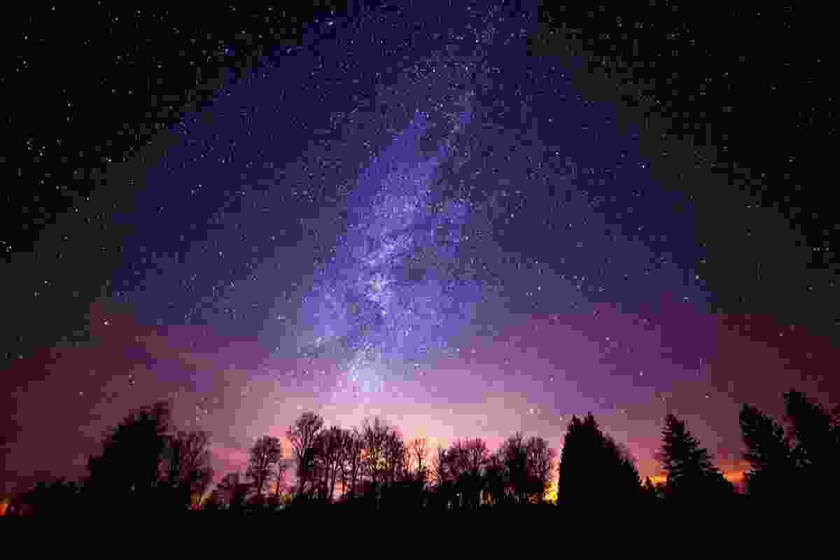 The Milky Way lit up by stars above Cherry Springs State Park, Pennsylvania (Shutterstock)