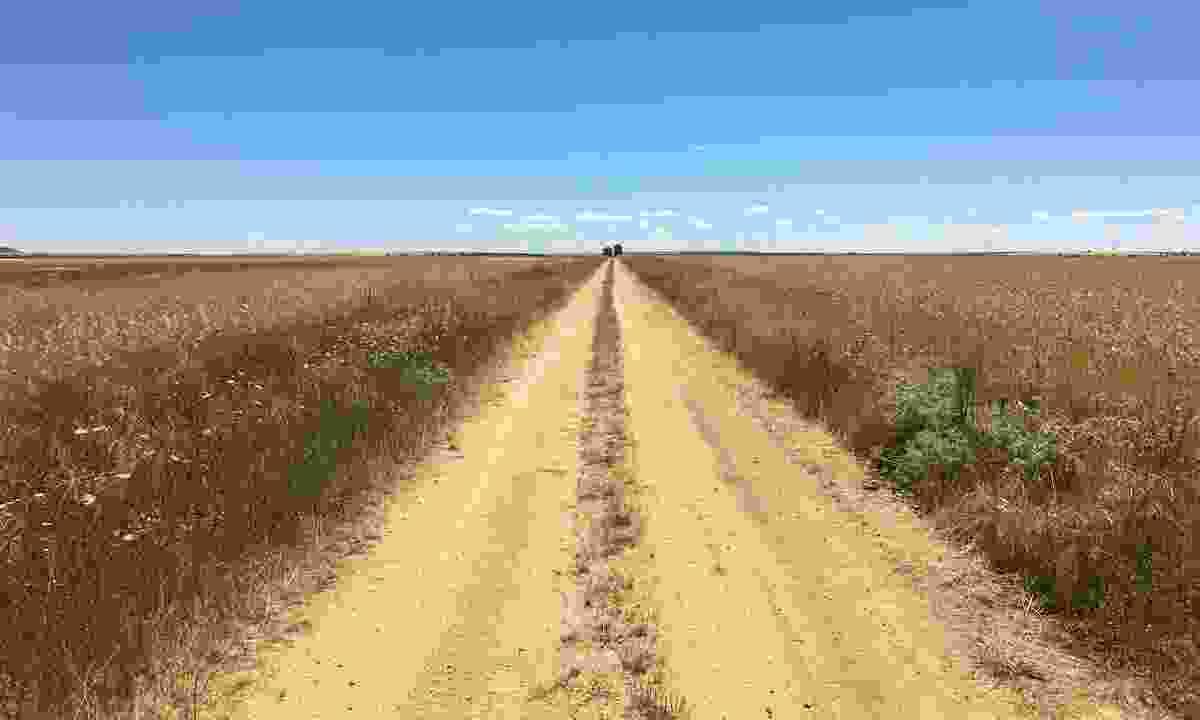 A road in Galacia, Spain (Alastair Humphreys)