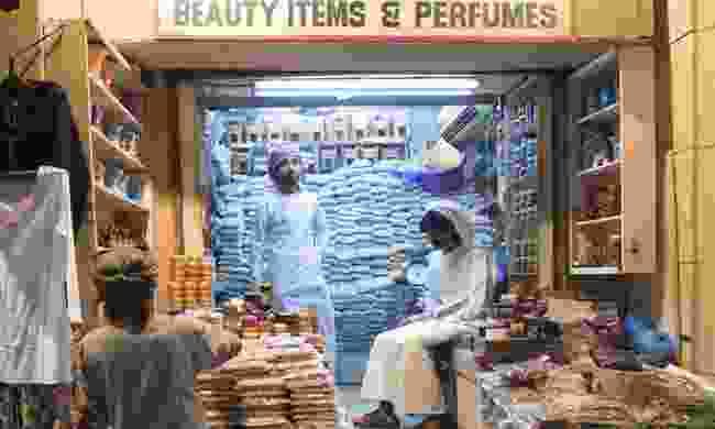 Incense shop in Oman (Dreamstime)