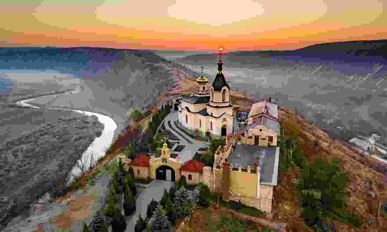 Old Orhei Monastery, Moldova (Shutterstock)