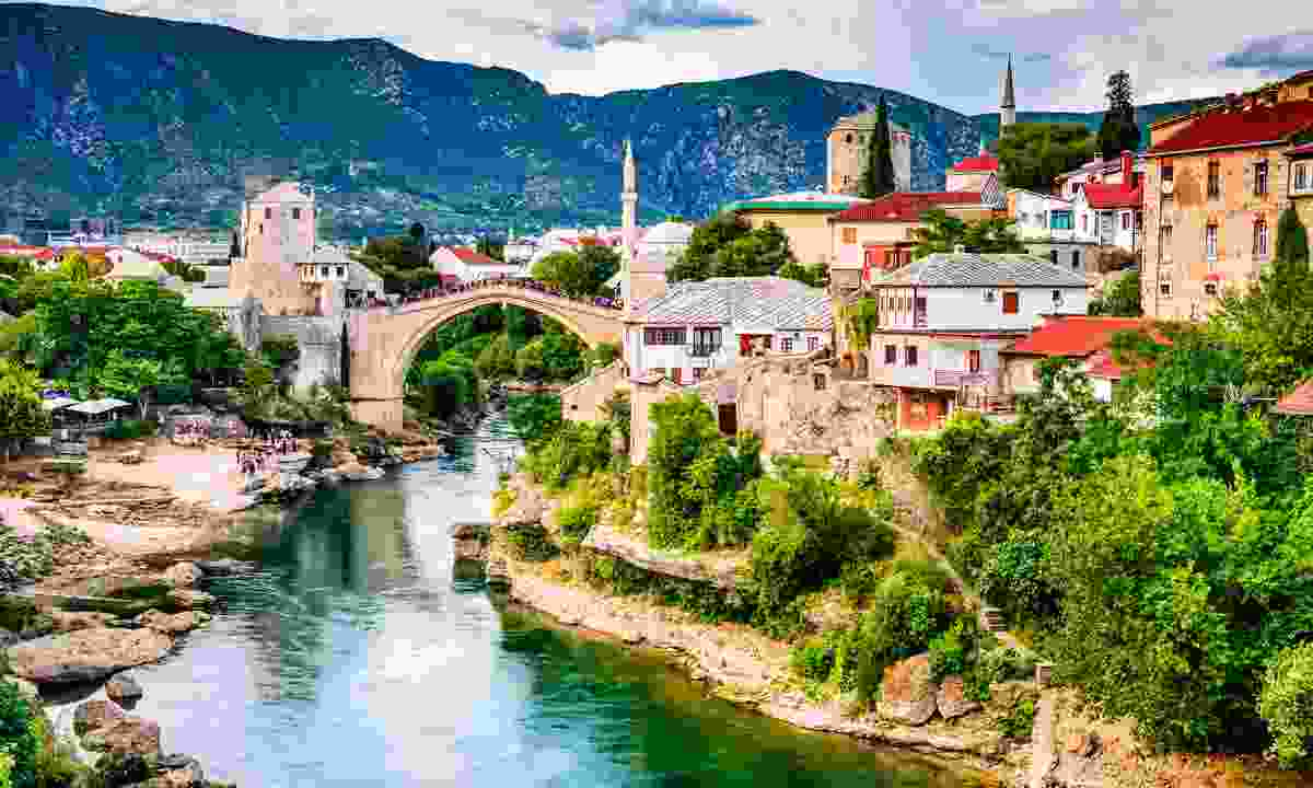 Mostar under the Balkan sun (Shutterstock)