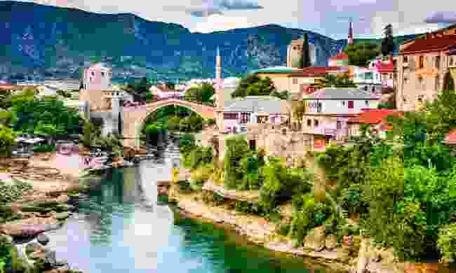 Mostar under the Balkan sun (Shutterstock)