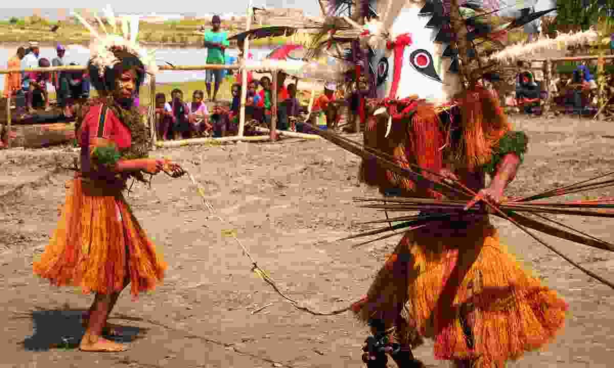 Mask Festival in Toare Village (Dreamstime)
