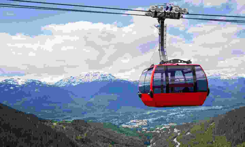 Peak 2 Peak gondola (Dreamstime)