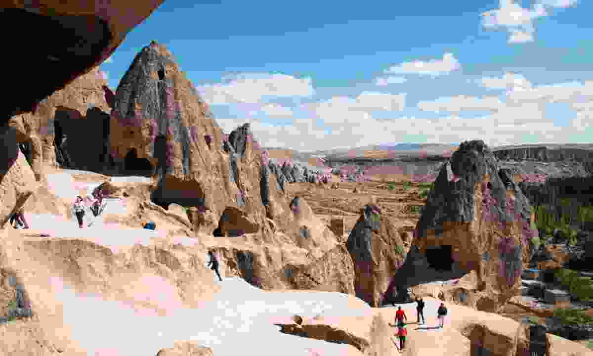 Views from the Selime monastery in South Cappadocia (Dreamstime)