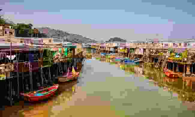 Tai O is one of few stilt villages left in China (Dreamstime)
