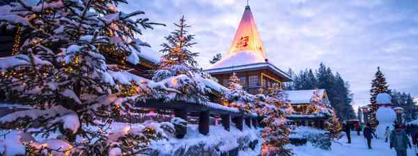 Rovaniemi, Finland (Shutterstock)