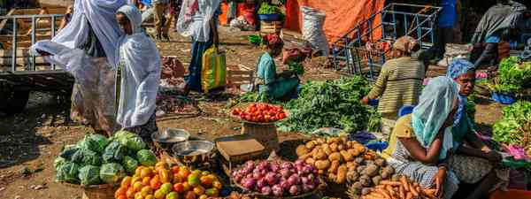 Ethiopian cuisine (Shutterstock)